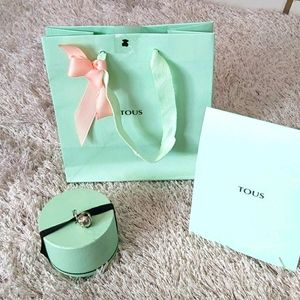 💝💝💝 Tous Jewelry Box and Bag